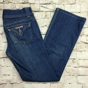 HUDSON Midrise Love Bootcut Jeans Womens Sz 27